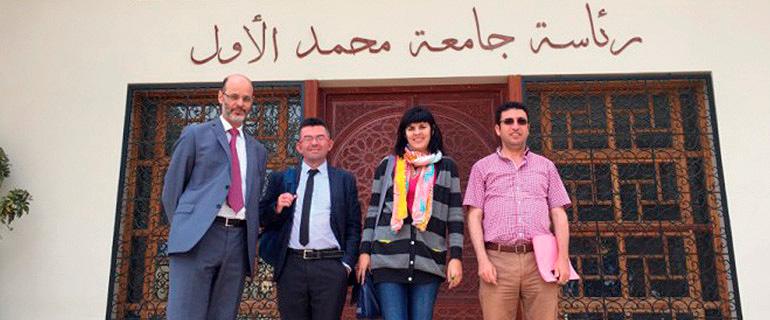 Fortalecimiento institucional de la Universidad Mohammed Primero de Oujda