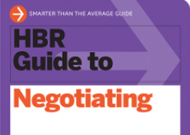 Harvard Business Review: Guide to Negotiating